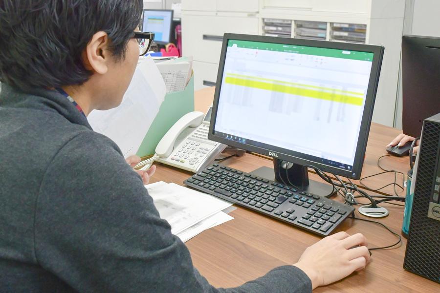 倉庫管理システムによる在庫管理